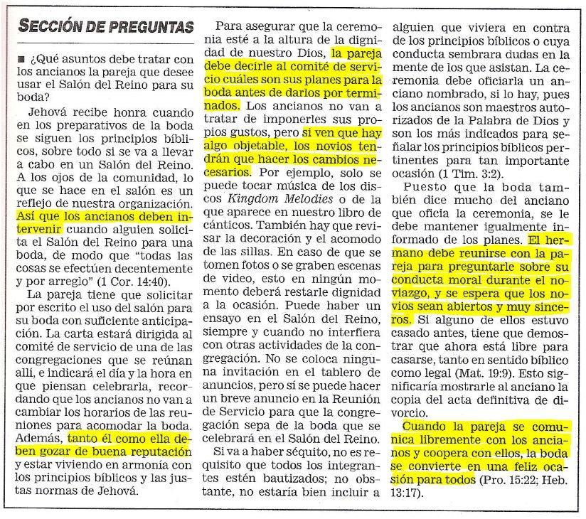 Matrimonio Catolico Y Testigo De Jehova : Matrimonio los testigos de jehová y la sociedad watchtower